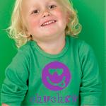 Camiseta personalizada con smiley y texto chuches